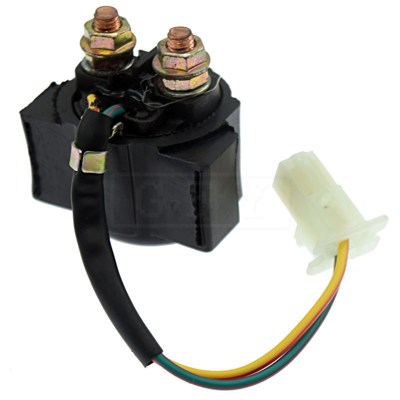 For Yamaha TIMBERWOLF 2WD YFB250 1992-1999 4WD 1994-2000 YFB250UK 1998 12V Starter Solenoid Lgnition Key Switch Starting Relay