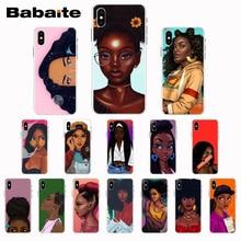 Babaite Black Girl Magic Melanin Poppin Coque Shell Phone Case For iPhone8 7 6 6S Plus X XS XR XSMax 5 5s SE 5c11 11pro 11promax babaite lil peep tpu soft silicone phone case cover for iphone 8 7 6 6s plus x xs xr xsmax 5 5s se 5c11 11pro 11promax