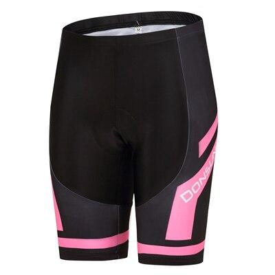 Шорты для велосипедистов MTB Женская профессиональная одежда для велоспорта Женская Спортивная одежда для спорта на открытом воздухе дышащие велосипедные шорты с вкладышами гель - Цвет: DS010WS