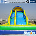 Amusing Summer Water Games Slide Inflatable Jumping Castle Toy For Sale
