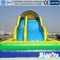 Divertido Verano Juegos Tobogán Inflable Castillo inflable de Juguete Para La Venta