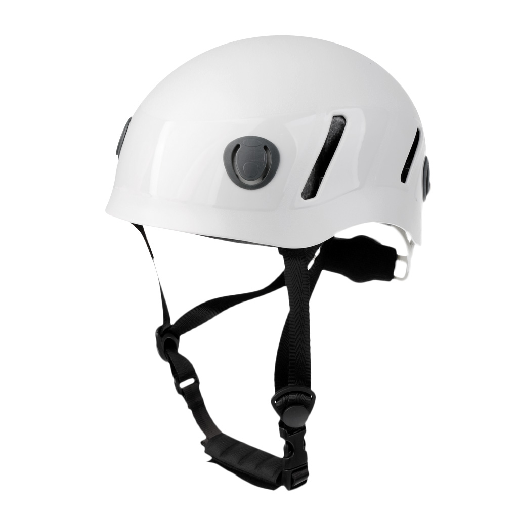Pro Safety Helmet Climbing Caving Rappelling Abseiling Rescue Hard Hat White