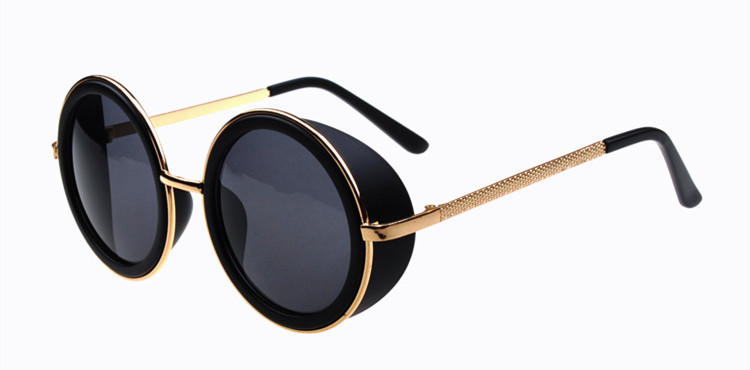 Préférence 2015 nouvelle Matsuda lunettes de soleil rondes fer homme Vintage  CJ19