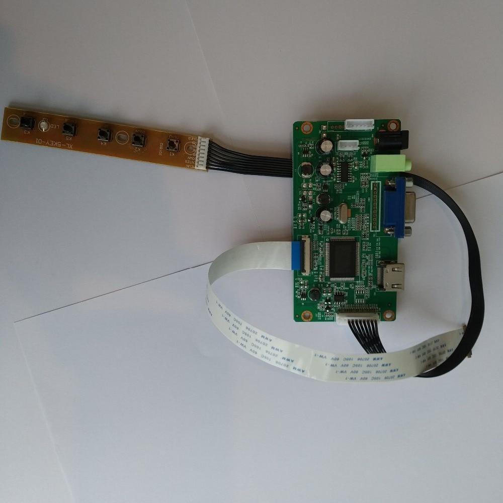 "2018 HDMI VGA LCD EDP Board Controller kit for B133XTN01.6 1366X768 13.3/"" screen"