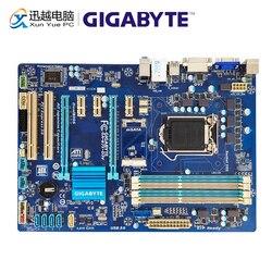 Gigabyte GA-B75-D3V рабочего Материнская плата B75-D3V B75 LGA 1155 Core i7 i5 i3/Pentium/Celeron DDR3 32G SATA3 USB3.0 VGA, HDMI, DVI блок питания ATX
