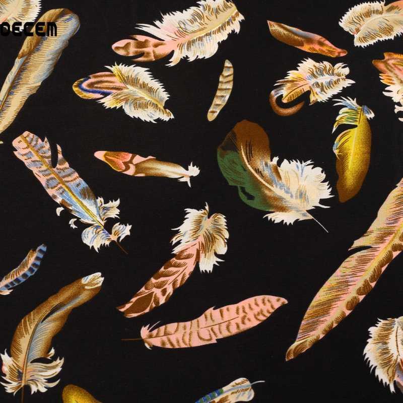 Черная эластичная атласная ткань метр перо искусственная шелковая ткань для женщин банкетное платье пальто шарф материал 50*150 см OSC006