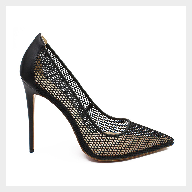 Janes Picture Chaussures Picture as Date Mujer Noir As 45 Talons Sexy Plus Tacon Maille Taille Pompes Mary Cm 12 Zapatos Hauts Europe Femmes gwEA5