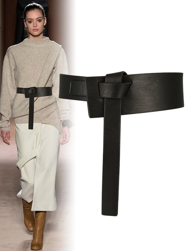 Newest Design Detachable Waist Belt Chain Punk Hip-hop Trendy Women Belts Lady Fashion Buckle Leather Waistband Jeans
