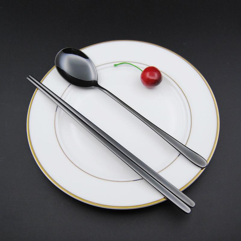 Black Chopstick spoon