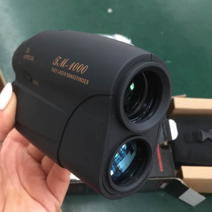 1000M Golf Laser Rangefinder 7X25 Hunting Monocular Telescope Distance Meter Device Speed Tester Angle Measurement