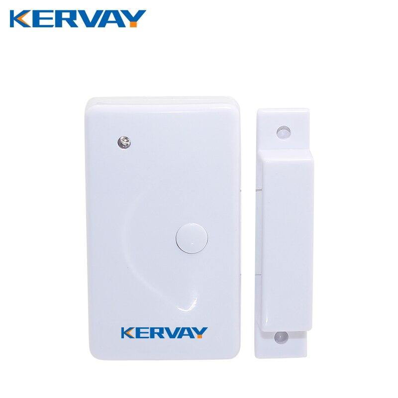 New 433MHZ Wireless Home Security Alarm Door Window Sensor Detector for GSM PSTN Alarm host Siren high quality 1pcs 433 mhz wireless home security door window sensor detector with battery for gsm pstn alarm system