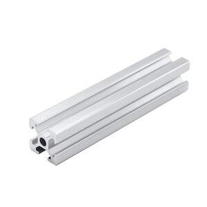 Image 2 - 1pc 2020 2040 2080 201000 3030 4040 t slot profil aluminiowy wytłaczanie 600mm 650mm 700mm 750mm 800mm dla DIY drukarka 3D CNC
