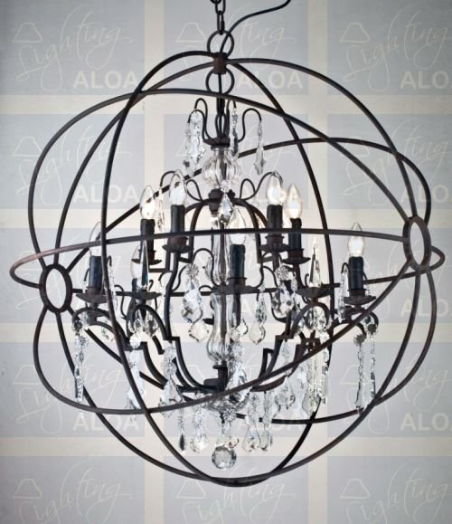 Orb Crystal Chandelier