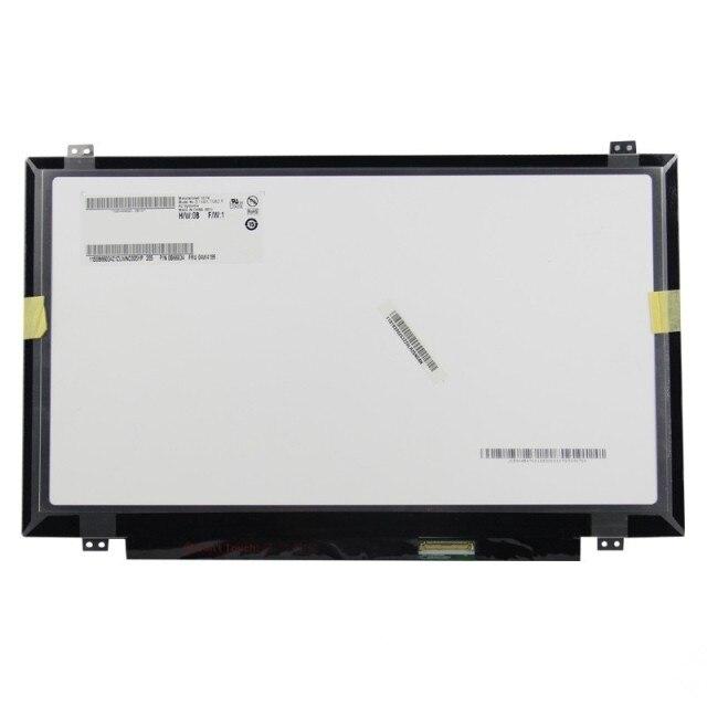 """14 """"pulgadas LED 1920*1080 B140HAN01 B140HAN01.1 B140HAN01.2 LP140WF1 SPK1 SPU1 B140RTN01 30pin Para Lenovo T440 Y40 LCD pantalla LED"""
