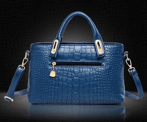 Luxury Elegant Female  PU Leather Bags 3 Pcs/Set