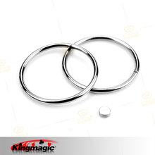Silver Super Two Rings TricksSet Baby Iron Magnetic Lock Kids Party Show Stage King Magic Props Magia Tricks