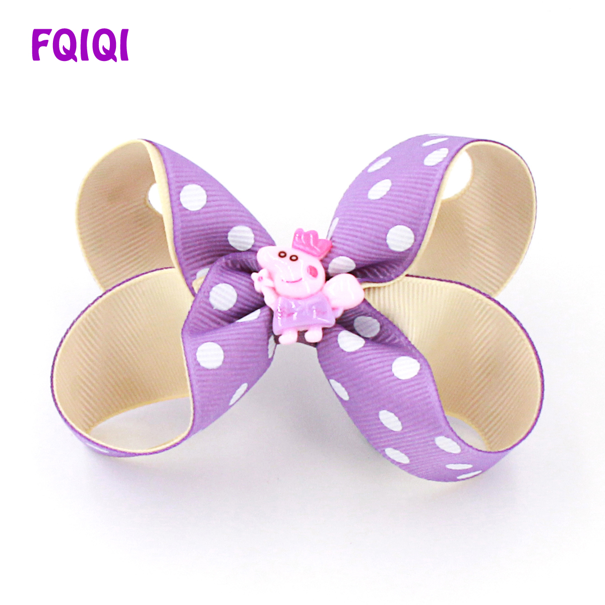 Kids' Clothes, Shoes & Accs. Handmade 4 Inch Hair Clip Bow Lilac Girls' Accessories