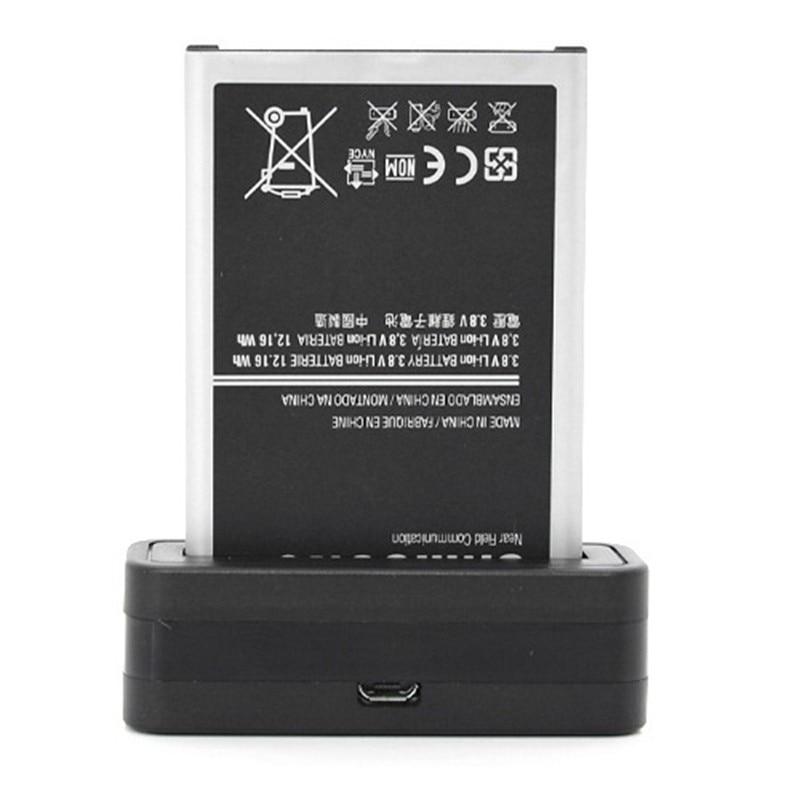 Mini Dock <font><b>Battery</b></font> Charger + Free Micro USB Cable For <font><b>Samsung</b></font> Galaxy S5 S4 S3 Mini <font><b>Note</b></font> <font><b>4</b></font> 3 2 i9600 i9500 N9000 N7000 i8190 i9190