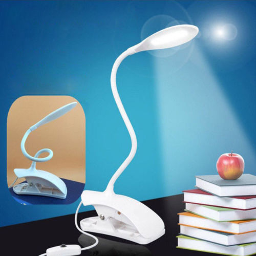 14 LED Touch USB Flexible Reading Light Clip-on Table Desk Lamp Book Night Lights Party Supplies