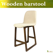 U-BEST Wood Bar Stools  comfort to your home bar or kitchen counter /Home Bar Furniture/wood swivel stools and airlift stools