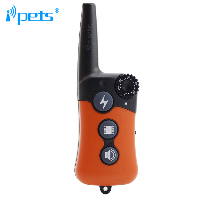 iPets PET619-1 Barking Dog Electric Collar For Dog with Shock 300M Remote Training Collar Barking Dog Collar 3