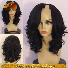 Best Unprocessed Brazilian U Part Human Hair Wigs Loose Wave Stock U Shaped Wig Virgin Hair Glueless Upart Wigs For Black Women