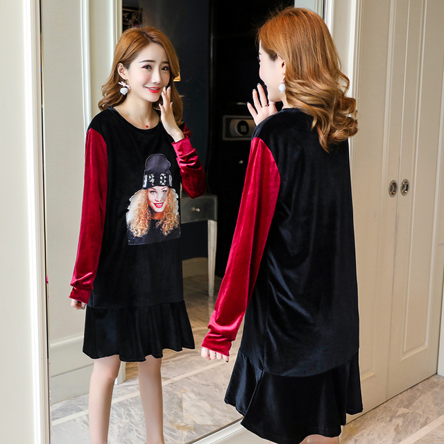 8017a6ea30e31 Formal Maternity Dress Lace Pregnancy Clothes Spring Autumn Maternity  Clothing Of Pregnant Women Long Sleeve Vestidos