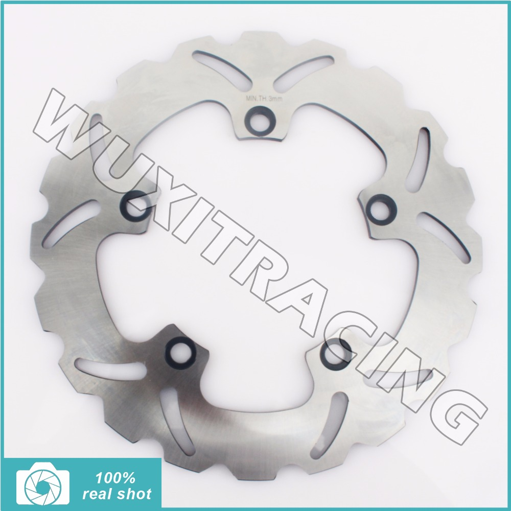 New Rear Brake Disc Rotor for HONDA CTX /N DCT ABS 14-16 700 INTEGRA 700 750 NC S X /ABS 700 NC X/S DCT 750 14-17 NM4 VULTUS 750 keoghs real adelin 260mm floating brake disc high quality for yamaha scooter cygnus modify
