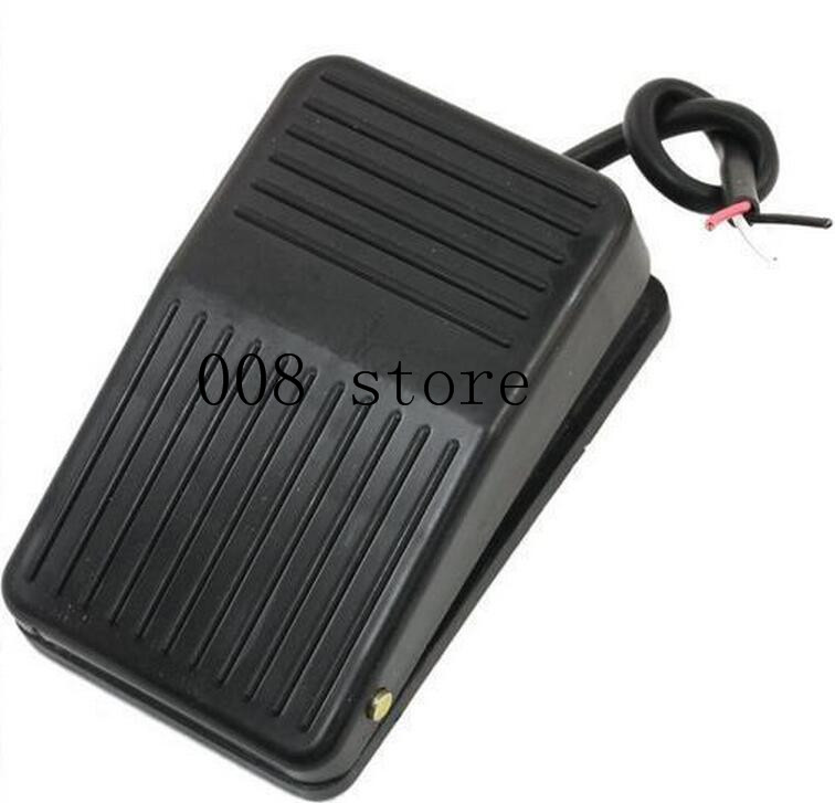 IMC Hot SPDT Nonslip Metal Momentary Electric Power Foot Pedal Switch 1pc spst momentary soft touch push button stomp foot pedal electric guitar switch m126 hot sale