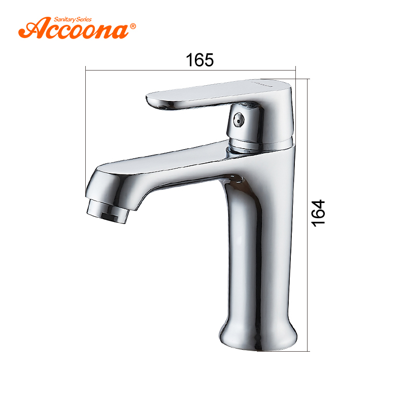 Accoona Colorful Basin Faucet Tap Mixer Finish Brass Vessel Stylish Sink Water Bathroom Faucets Chrome Modern Waterfall Faucets in Basin Faucets from Home Improvement