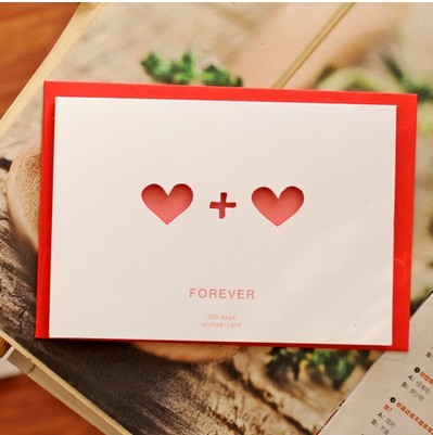 365day Korea DIY greeting cards birthday cards love