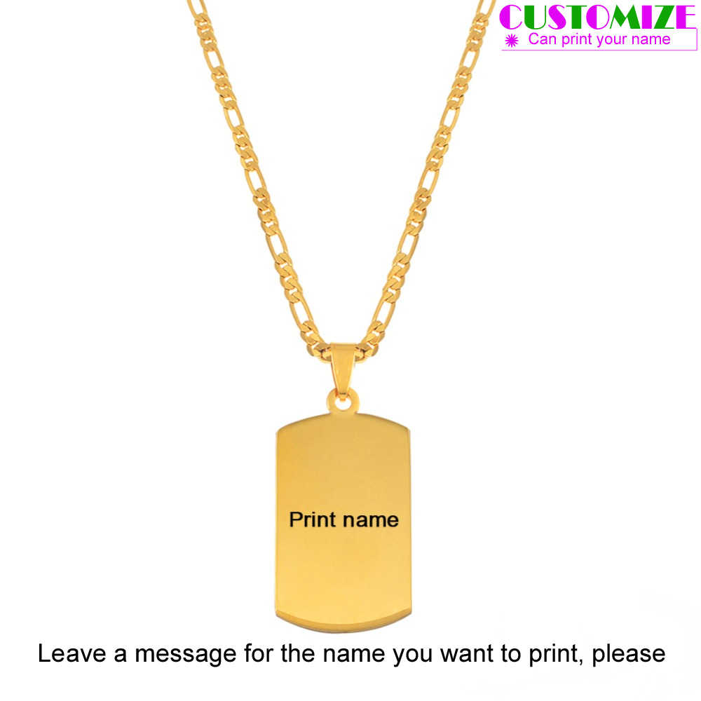 Anniyo Personalized Name Pendant Necklaces for Men WOmen Marshall Islands Jewelry Micronesia Customize Print Letters #053621P