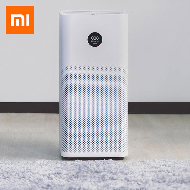 Original Xiaomi Air Purifier 2S Triple-layered Hepa Filter Air Purifiers for Home Control Low Noise Mijia Purifier Cleaner ce emc lvd fcc hepa air purifiers ozone air purifier appliance home air cleaner
