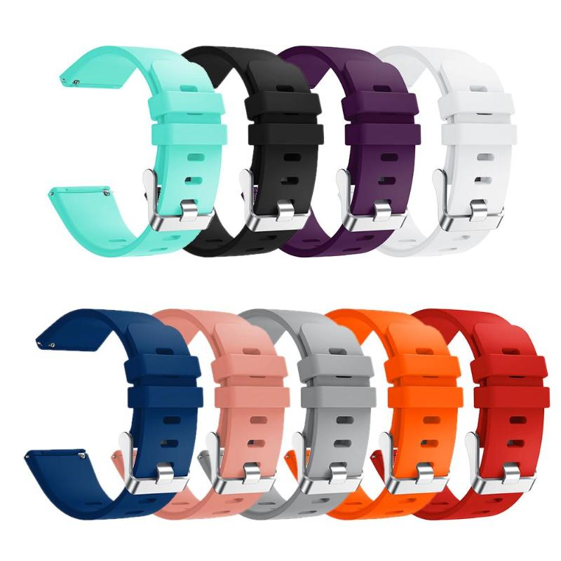 1Pcs Silicone Sport Wristband Strap Replacement for Fitbit Versa Smart Watch Colorful Watch Replace wrist Band S Size Wristband