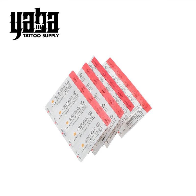 Yaba Professional White Disposable Bugpin Tattoo Needle Cartridge
