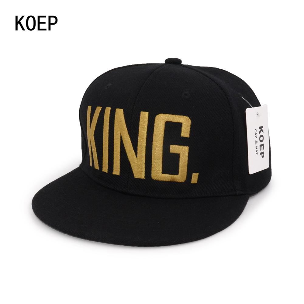 black snapback hat KOEP-HHC-17-GK-1