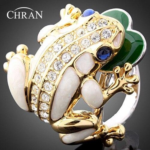 CHRAN Classic Animal Pattern Gold Color Women