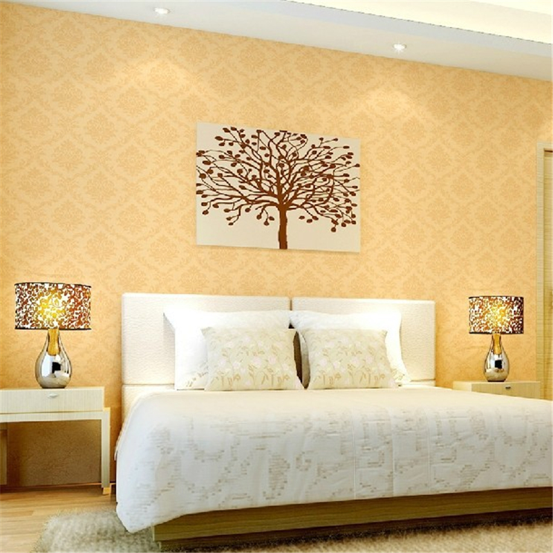 beibehang of wall paper contact paper Damask Wallpaper Classic PVC Wall Paper Roll papel de parede for Living Room Bedroom beibehang flower wallpaper roll non woven wall paper 3d paper contact for living room birds wall paper roll home decoration