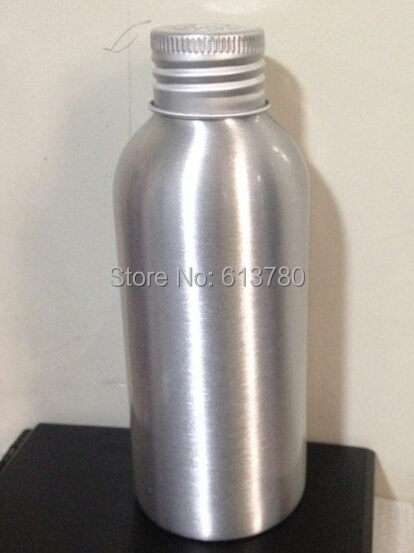 Free Shipping 12 x 120ml Aluminum bottle Cosmetic Packaging Bottle Metal Storage Container Essential Oil Bottle