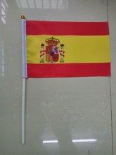 Бесплатная доставка флаги xvggdg из Испании с пластиковым флагштоком