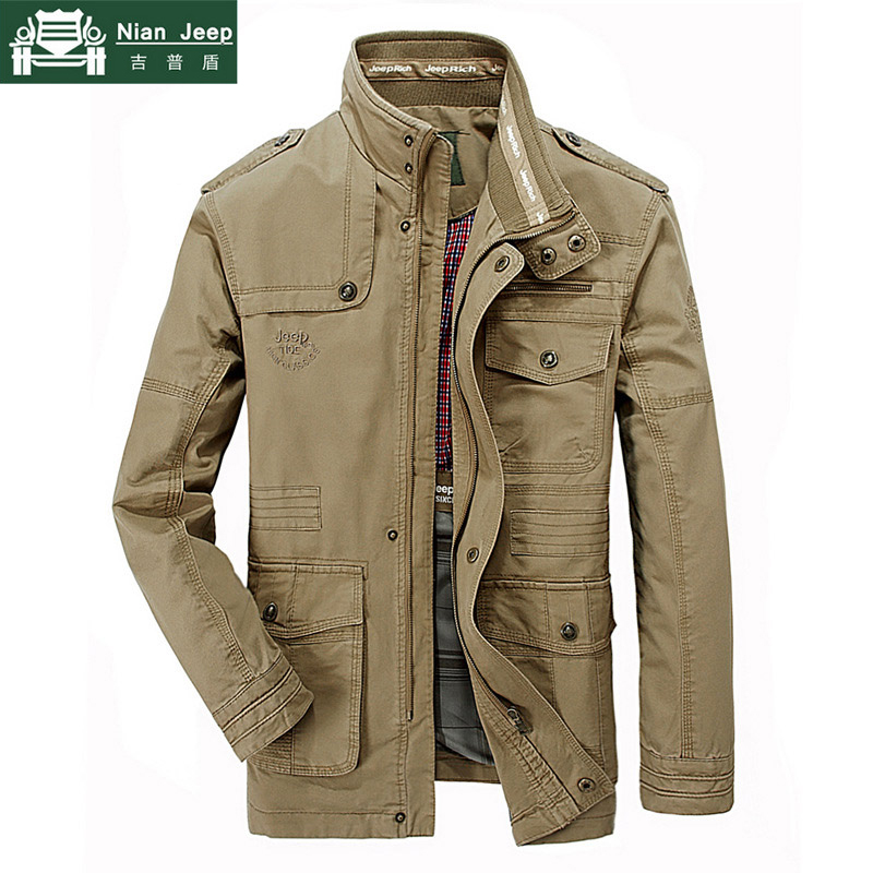 New Plus Size 7XL 8XL Autumn Military Jacket Men Cotton Brand Outwear Multi-pocket Mens Jackets Long Coat Male Chaqueta Hombre