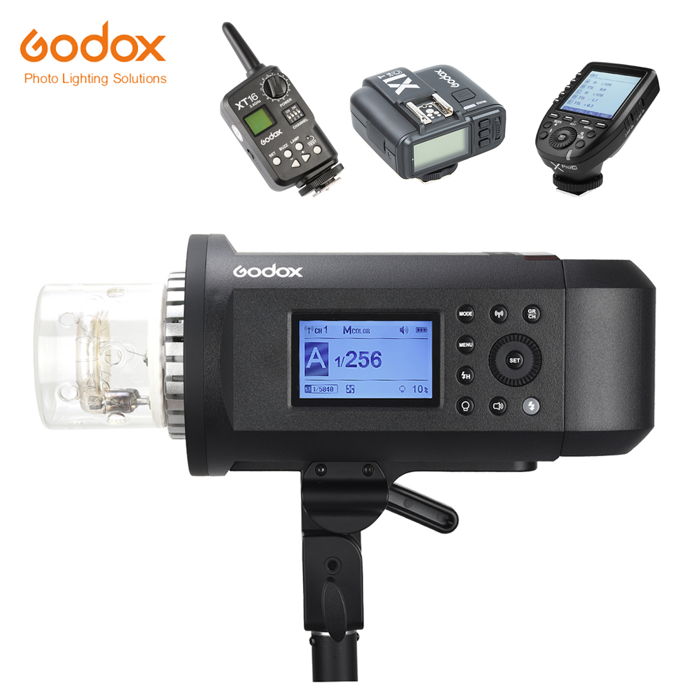 In Stock!!! <font><b>Godox</b></font> WITSTRO <font><b>AD600</b></font> <font><b>Pro</b></font> AD600Pro Portable Outdoor Flash 38W LED 1/8000s TTL Bowens Mount with XT16 X1 Xpro Trigger image