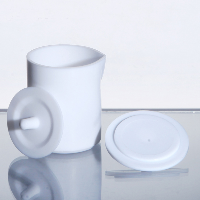 1pc Laboratory PTFE Beaker With Cap Teflon Beaker Laboratory Equipment Perfect Quality 30ml-5000ml