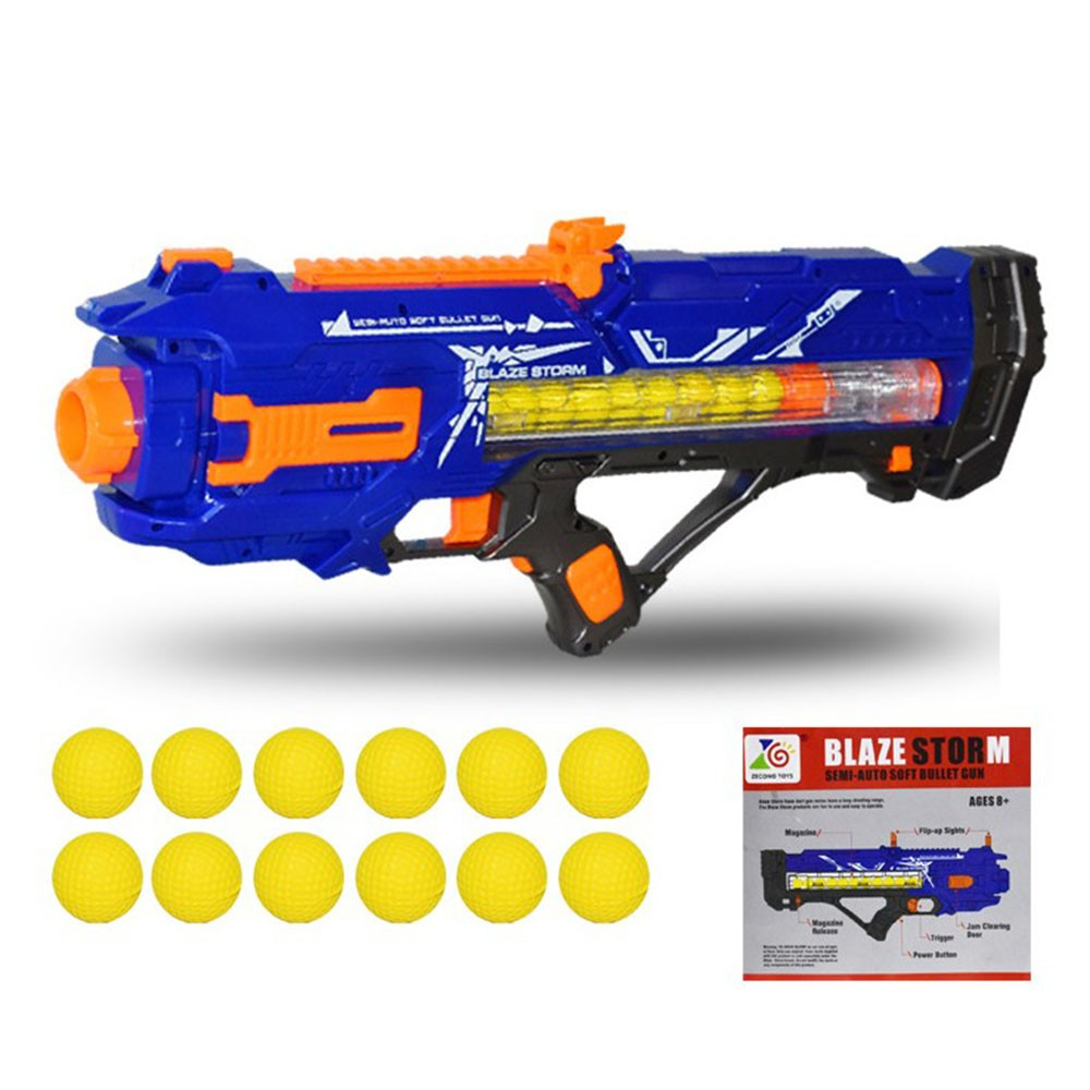 For Nerf Shoots Balls Bullet Toy Gun Suit For Rival Zeus Apollo Ball Darts Suit Gun Toy Birthday Gift Toys For Boy Without Box