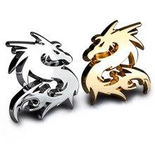 1pcs Metal Car Stickers Dragon Emblem Badge Truck Motor Car Styling Decal For Nissan