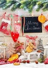 Рождественские украшения для дома фотографии фонов рождественские Фон Фото фон новорожденный Рождество фон D-3162