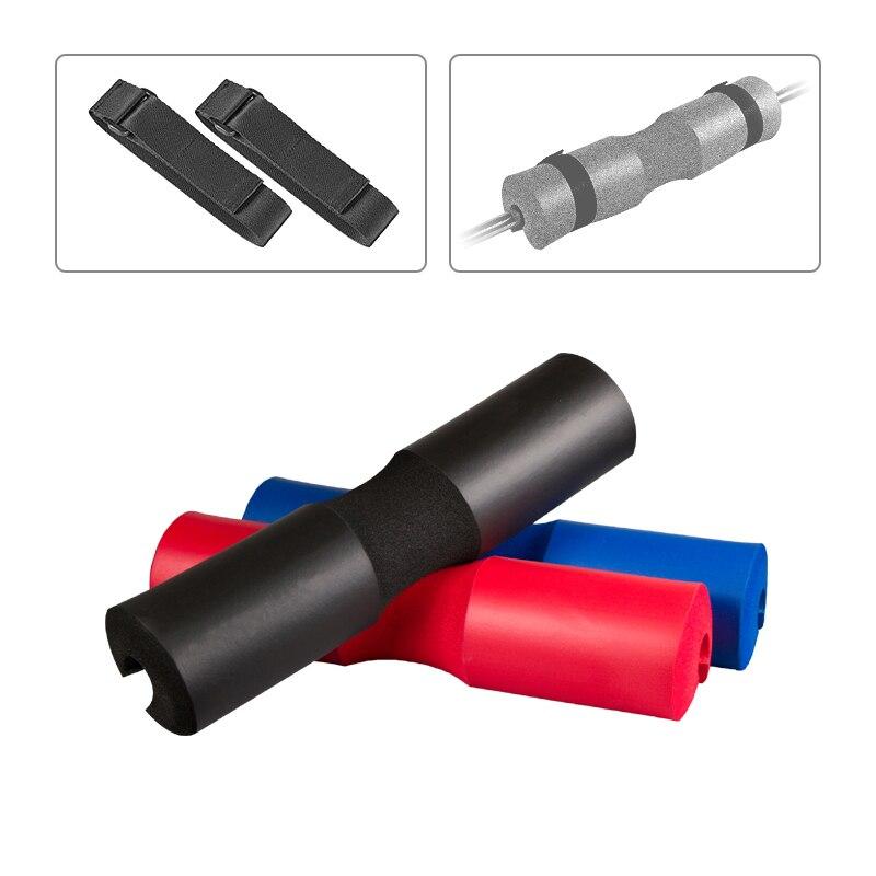 Poids De Levage Squat en Mousse Rembourré Barbell Couverture Pour Gym Retour Support Pad Crossfit Fitness Haltère Gimnasio Pièces