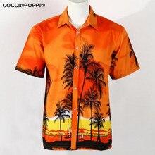 Гавайские Рубашки Мужчины Повседневная Пляж Рубашки С Коротким Рукавом Новый 2016 Мужчины Совета Рубашки Aloha Рубашки Бесплатная Доставка