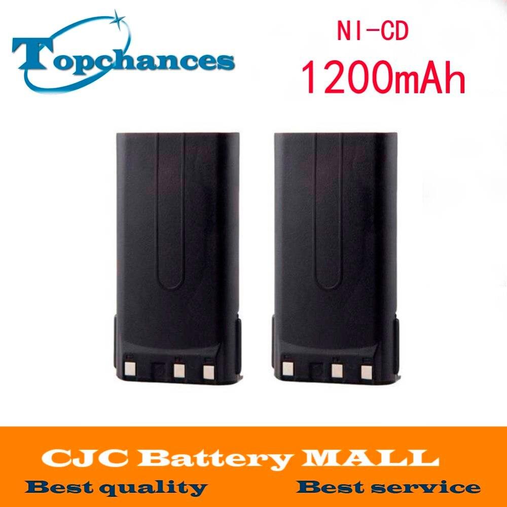 2x1200 mAh KNB 14A KNB 15A батарея для KENWOOD TK 260G TK 360G TK 2100