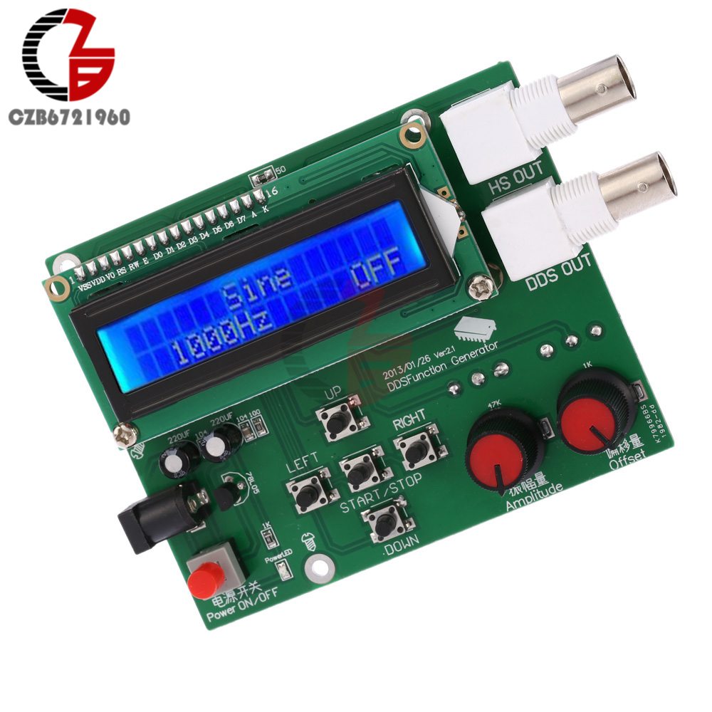 Ad9833 Signal Generator Module Dds Function 0 125mhz Tri Waveform Frequency Ecg Square Sawtooth Triangle Sine Wave Meter